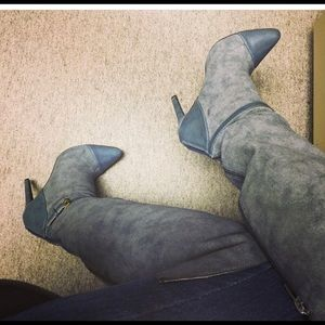 Knee height boots